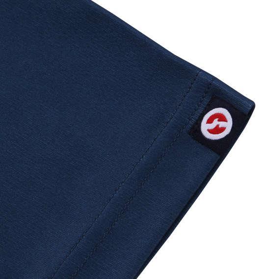 大きいサイズ メンズ OUTDOOR PRODUCTS DRY メッシュ 半袖 Tシャツ ネイビー 1158-9212-2 3L 4L 5L 6L 8L
