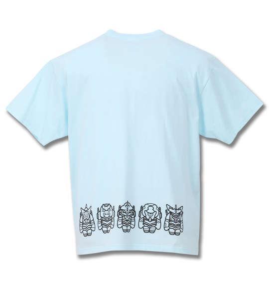 大きいサイズ メンズ EVA MICRO MACRO 半袖 Tシャツ サックス 1178-9212-1 3L 4L 5L 6L 8L