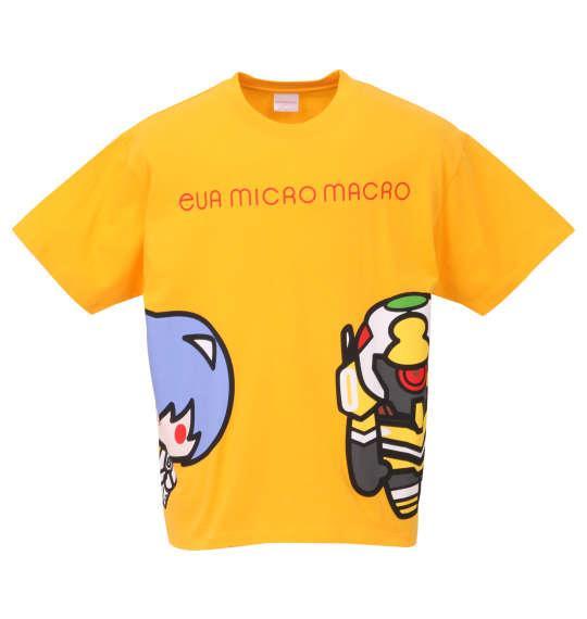 大きいサイズ メンズ EVA MICRO MACRO 半袖 Tシャツ デイジーイエロー 1178-9213-2 3L 4L 5L 6L 8L
