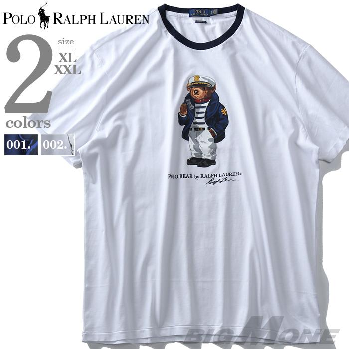 大きいサイズ メンズ POLO RALPH LAUREN ポロ ラルフローレン 半袖 プリント Tシャツ USA直輸入 710741111