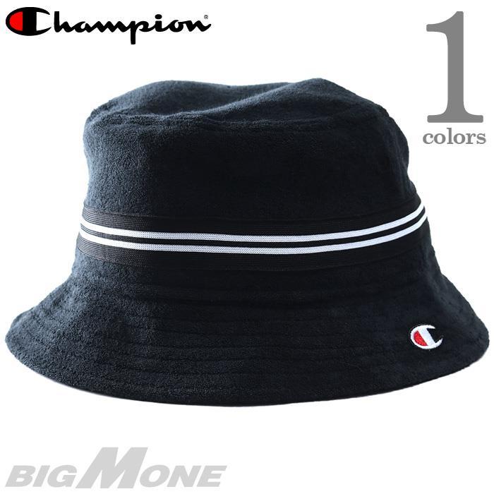 メンズ Champion チャンピオン ロゴ パイル ハット 帽子 USA直輸入 h0822