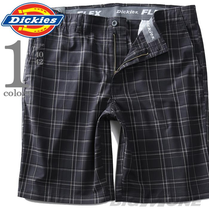 大きいサイズ メンズ Dickies ディッキーズ チェック柄 ショートパンツ USA直輸入 xr831rpch