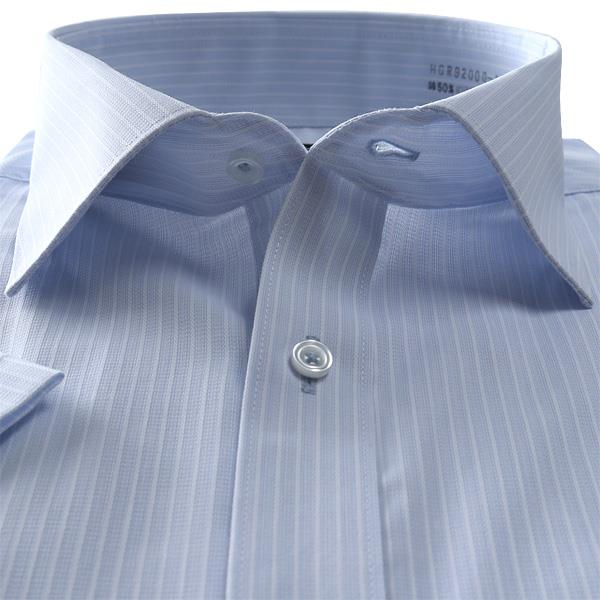 2点目半額 大きいサイズ メンズ GATSBY 半袖 ワイシャツ レギュラー ワイド 消臭 デオドラント 形態安定 hgr92000-4