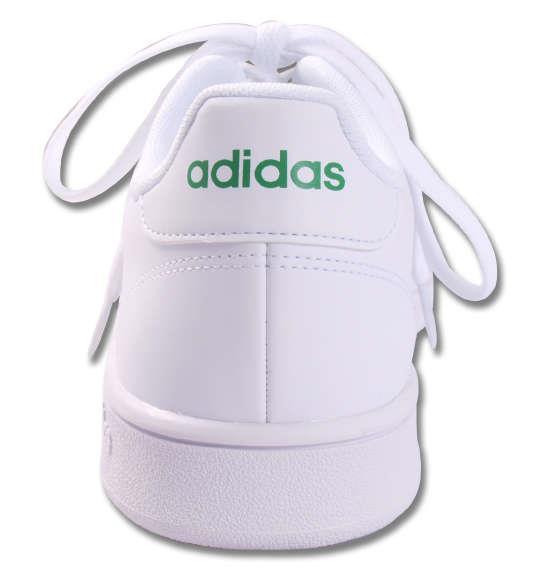 大きいサイズ メンズ adidas スニーカー ADVANCOURT BASE ランニングホワイト 1140-9354-1 29 30 31 32