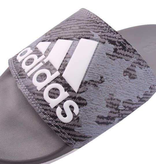 大きいサイズ メンズ adidas サンダル ADILETTE CF LOGO グレースリー 1140-9355-1 29.5 30.5 31.5
