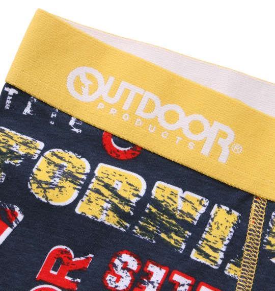 大きいサイズ メンズ OUTDOOR PRODUCTS グランジロゴ ボクサーパンツ ネイビー 1149-9300-2 3L 4L 5L 6L