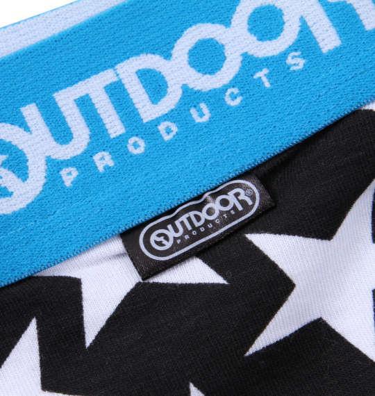 大きいサイズ メンズ OUTDOOR PRODUCTS スター ボクサーパンツ ブラック 1149-9301-2 3L 4L 5L 6L