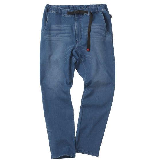 大きいサイズ メンズ OUTDOOR PRODUCTS ストレッチ デニム クライミング パンツ ブルー 1154-9360-1 3L 4L 5L 6L 7L 8L