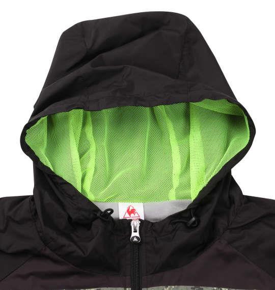 大きいサイズ メンズ LE COQ SPORTIF ウインド ジャケット ブラック 1173-9350-2 2L 3L 4L 5L 6L