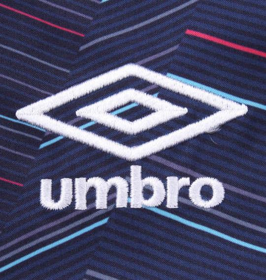 大きいサイズ メンズ UMBRO AL.フーデッド ライン ジャケット ネイビー 1176-9350-1 3L 4L 5L 6L