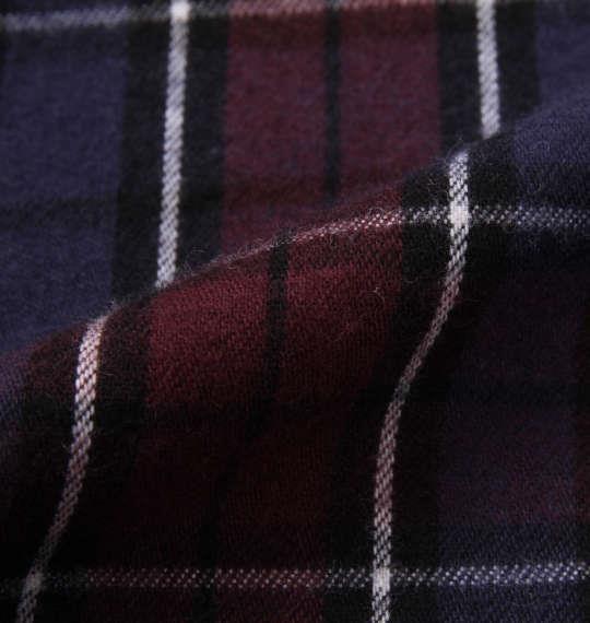 大きいサイズ メンズ KANGOL EXTRA COMFORT ツイル 起毛 チェック 長袖 パジャマ レッド系 1159-9311-2 3L 4L 5L 6L 8L