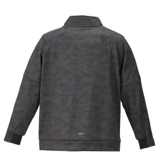 大きいサイズ メンズ adidas ウォームアップ ジャケット ブラック カモ 1176-9340-2 3XO 4XO 5XO 6XO 7XO 8XO