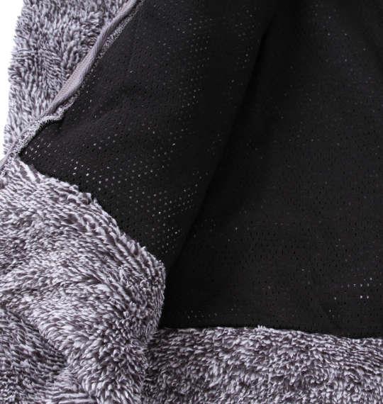 大きいサイズ メンズ OUTDOOR PRODUCTS ボア フリース ジャケット グレー 1158-9300-1 3L 4L 5L 6L 8L