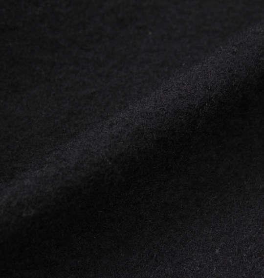 大きいサイズ メンズ SMILEY FACE 裏起毛 総柄 プル パーカー ブラック 1158-9310-2 3L 4L 5L 6L