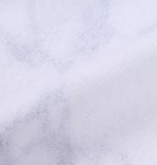 大きいサイズ メンズ BEAUMERE 裏起毛 総柄 プル パーカー ホワイト 1158-9321-1 3L 4L 5L 6L