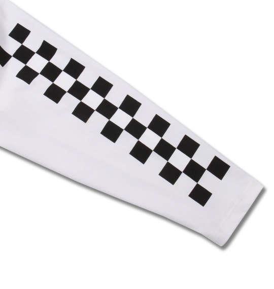 大きいサイズ メンズ SHELTY 天竺 刺繍 & プリント 長袖 Tシャツ オフホワイト 1158-9370-1 3L 4L 5L 6L