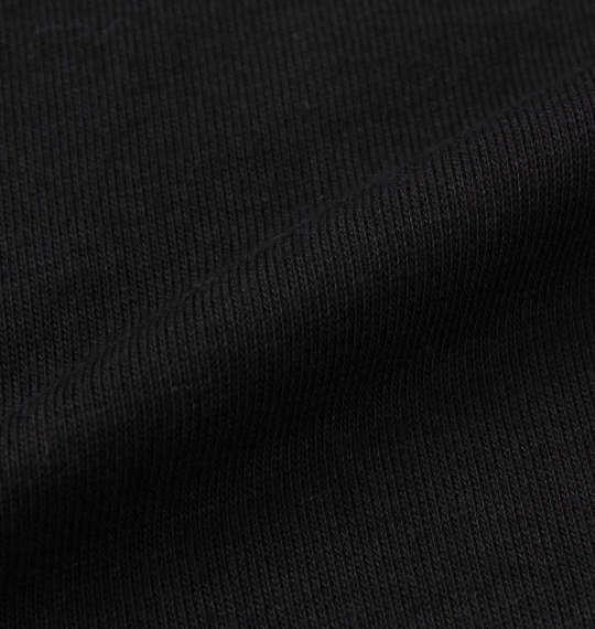 大きいサイズ メンズ LUCPY 裏毛 プル パーカー ブラック 1158-9380-2 3L 4L 5L 6L