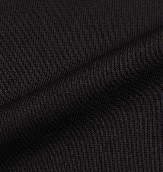 大きいサイズ メンズ DESCENTE ライト スムース ドライ スウェット フルジップ パーカー ブラック 1176-9300-2 2L 3L 4L 5L 6L