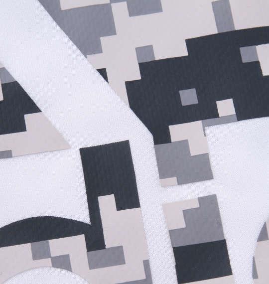 大きいサイズ メンズ adidas 長袖 Tシャツ ホワイト 1178-9310-1 3XO 4XO 5XO 6XO 7XO 8XO