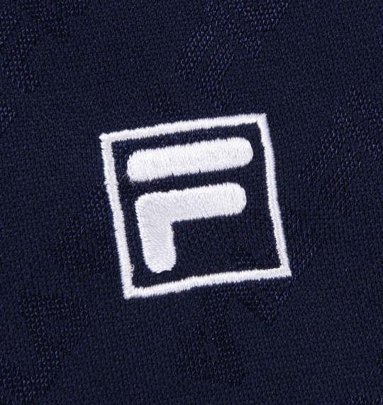 大きいサイズ メンズ FILA GOLF 半袖 シャツ + インナー セット ネイビー × ホワイト 1178-9335-1 3L 4L 5L 6L