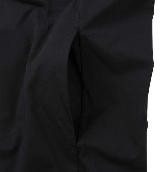 大きいサイズ メンズ DESCENTE タフクロス フーデッド ジャケット ブラック 1178-9356-2 2L 3L 4L 5L 6L