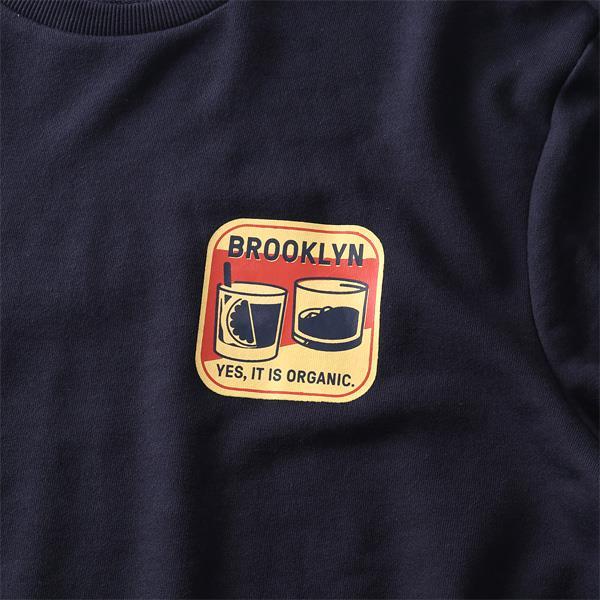 大きいサイズ メンズ NYC プリント トレーナー BROOKLYN azsw-190437