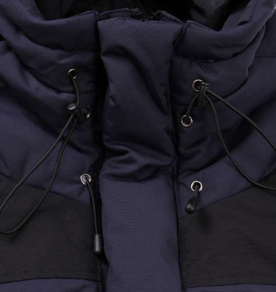 大きいサイズ メンズ PREPS マウンテン 中綿 ジャケット ネイビー 1153-9321-1 3L 4L 5L 6L 8L