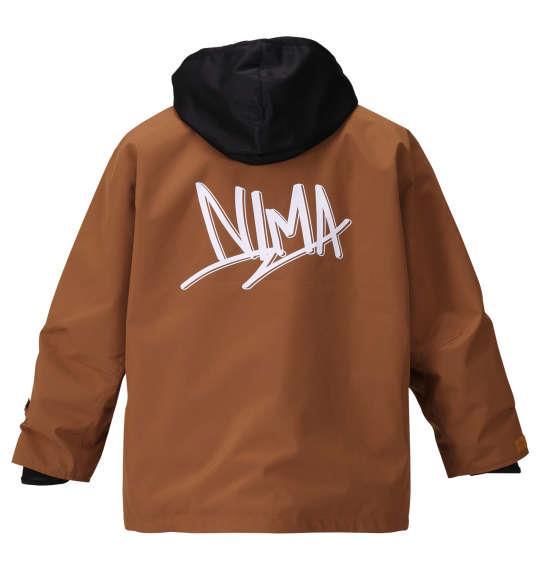 大きいサイズ メンズ nima スノーボード ジャケット キャメル 1156-9301-1 3L 5L 7L