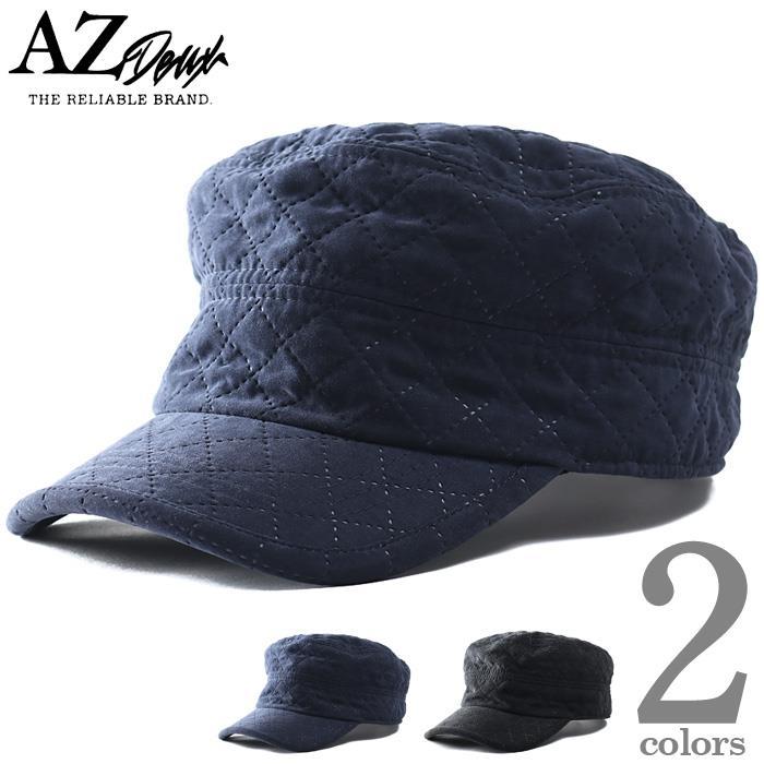 大きいサイズ メンズ AZ DEUX キルティング ワーク キャップ 帽子 秋冬新作 714-190602