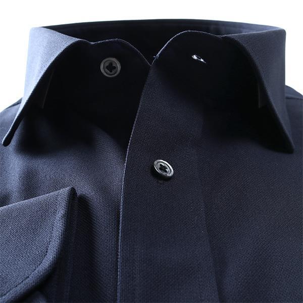 2点目半額 大きいサイズ メンズ DANIEL DODD ノーアイロン 形態安定 長袖 ワイシャツ セミワイドカラー 吸水速乾 ストレッチ 日本製生地使用 kcr93000-4