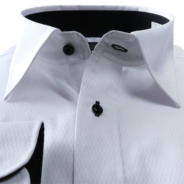 2点目半額 大きいサイズ メンズ DANIEL DODD 抗菌防臭 形態安定 長袖 ワイシャツ セミワイドカラー 秋冬新作 eadn86-1