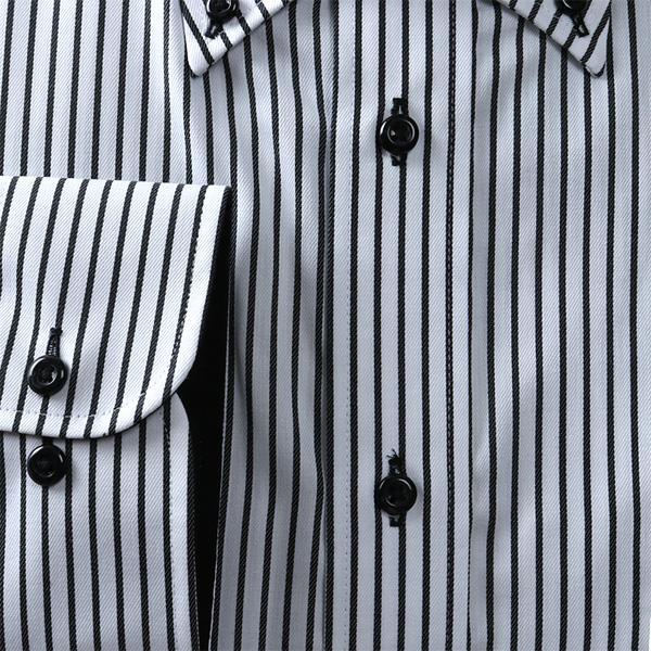 2点目半額 大きいサイズ メンズ DANIEL DODD 抗菌防臭 形態安定 長袖 ワイシャツ ボタンダウン eadn86-83