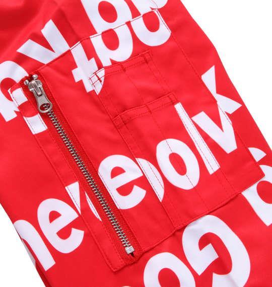 大きいサイズ メンズ SHOCK NINE 総柄 プリント MA-1 ジャケット レッド 1153-9330-1 3L 4L 5L 6L