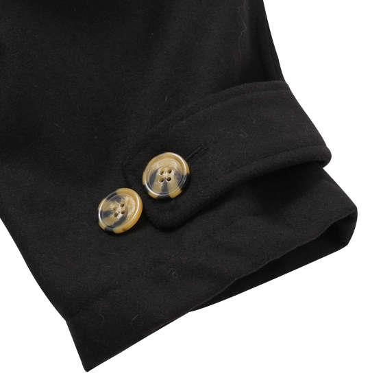 大きいサイズ メンズ PREPS ダッフル コート ブラック 1153-9323-2 3L 4L 5L 6L 8L