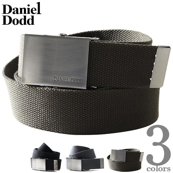 大きいサイズ メンズ DANIEL DODD 無地 GI ベルト ロングサイズ 秋冬新作 azcl-19dd11