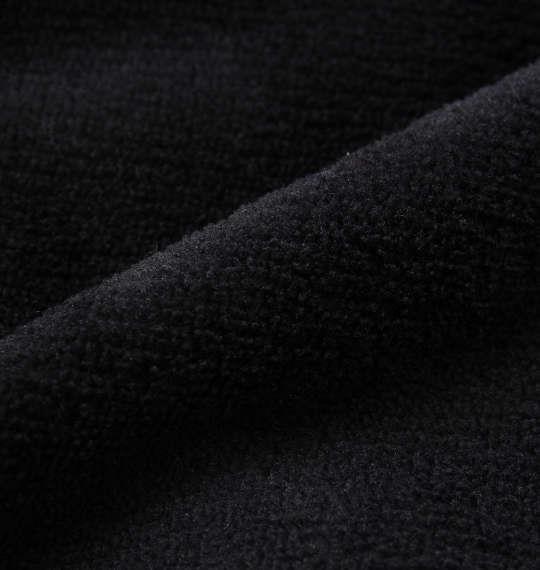 大きいサイズ メンズ ゲゲゲの鬼太郎 総柄 ボア ちゃんちゃんこ パーカー ブラック 1178-9375-2 3L 5L
