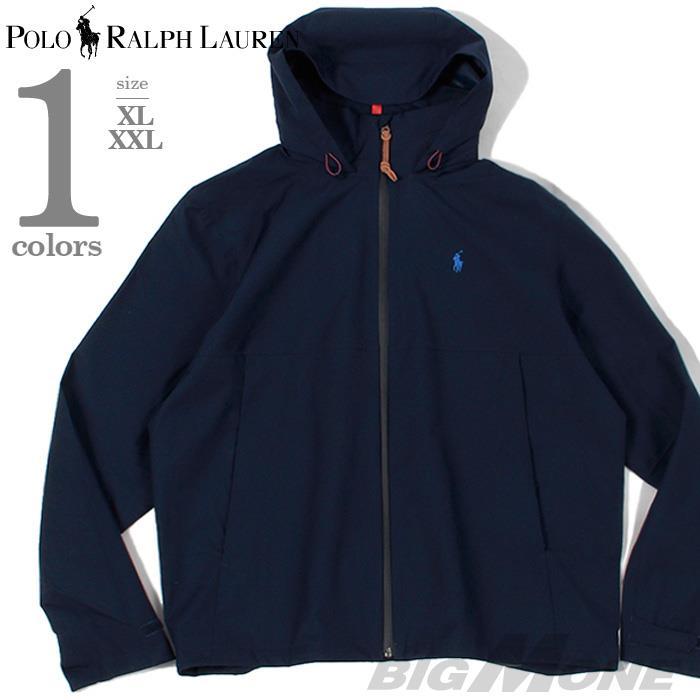 大きいサイズ メンズ POLO RALPH LAUREN ポロ ラルフローレン フード付 フルジップ ロゴ ジャケット USA直輸入 710759982