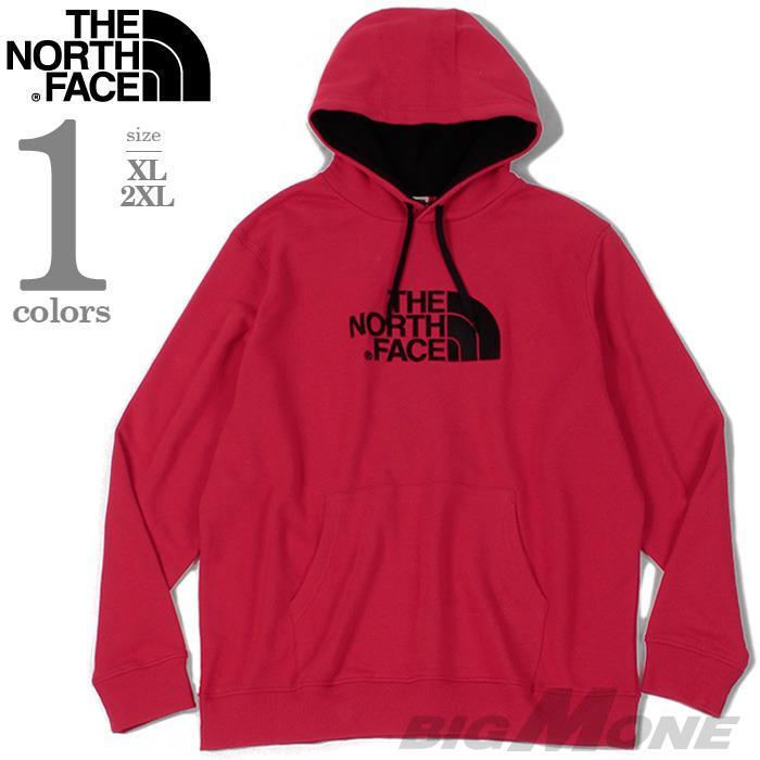 大きいサイズ メンズ THE NORTH FACE ザ ノース フェイス ロゴ刺繍 プルオーバー パーカー USA直輸入 nf00ahjy
