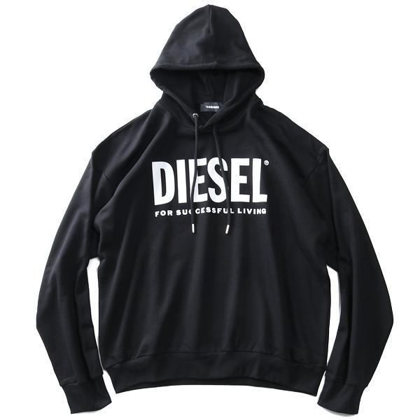 大きいサイズ メンズ DIESEL ディーゼル プルオーバー パーカー S-DIVISION-LOGO 直輸入品 00sy5n-0bawt