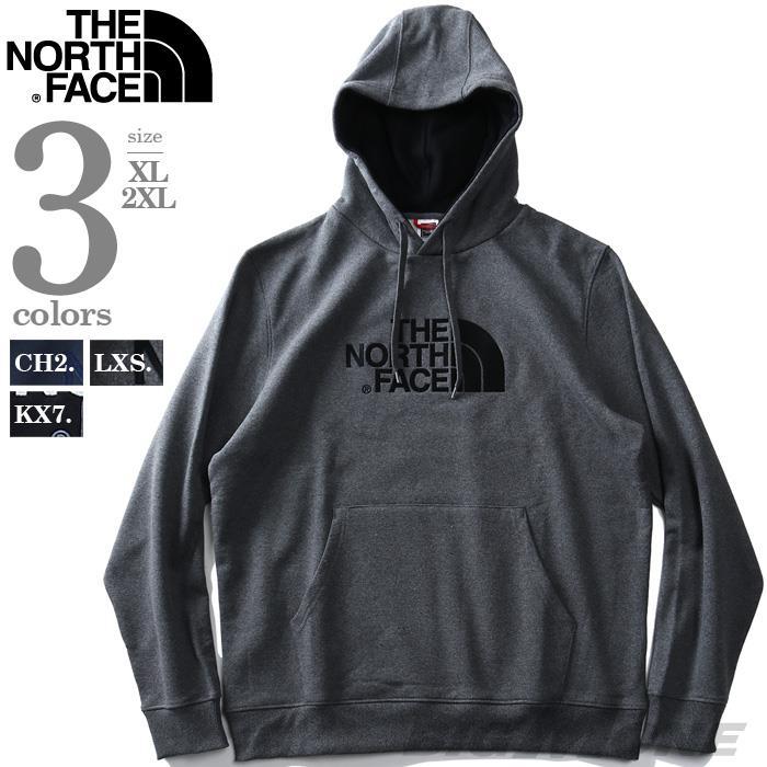 大きいサイズ メンズ THE NORTH FACE ザ ノース フェイス ロゴ刺繍 プルオーバー パーカー USA直輸入 t0ahjy
