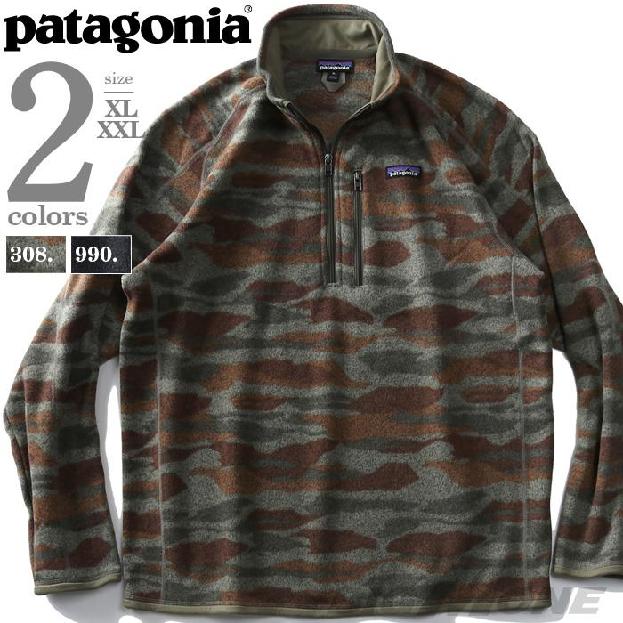 ブランドセール 大きいサイズ メンズ PATAGONIA パタゴニア ハーフジップ セーター ニット USA直輸入 25523