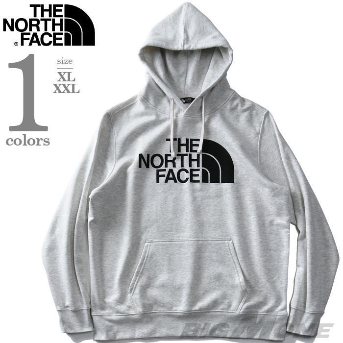 大きいサイズ メンズ THE NORTH FACE ザ ノース フェイス ロゴ プリント プルオーバー パーカー USA直輸入 nf0a3vhc9nb