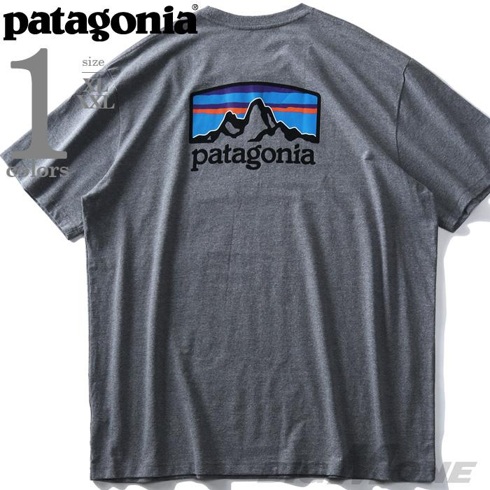 大きいサイズ メンズ PATAGONIA パタゴニア プリント 半袖 Tシャツ USA直輸入 38440