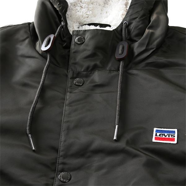ブランドセール 大きいサイズ メンズ LEVI'S リーバイス フード付 裏ボア コーチ ジャケット USA直輸入 lm8rn432
