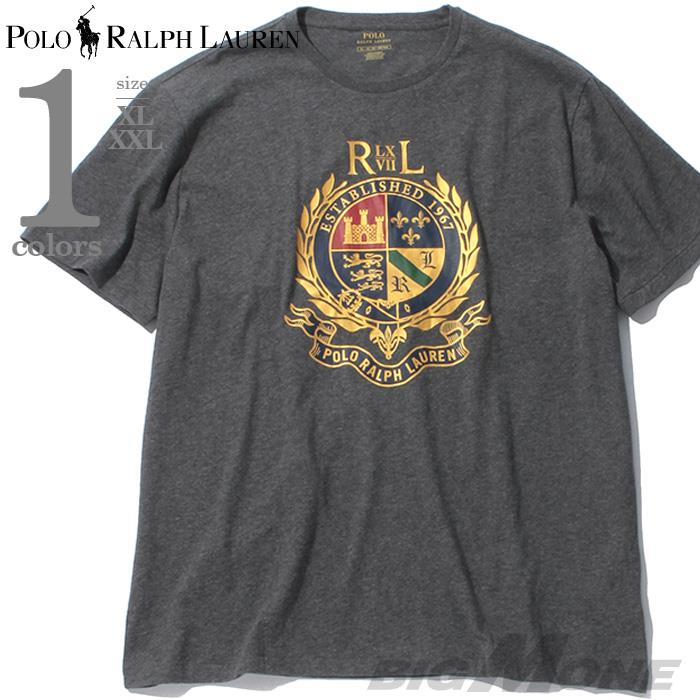大きいサイズ メンズ POLO RALPH LAUREN ポロ ラルフローレン プリント 半袖 Tシャツ USA直輸入 710766204002