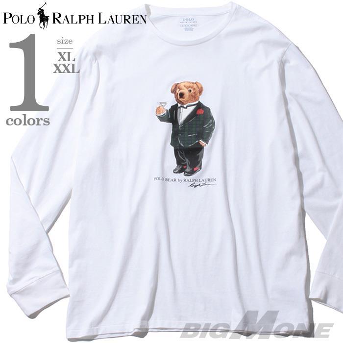 大きいサイズ メンズ POLO RALPH LAUREN ポロ ラルフローレン プリント ロング Tシャツ USA直輸入 710778637001