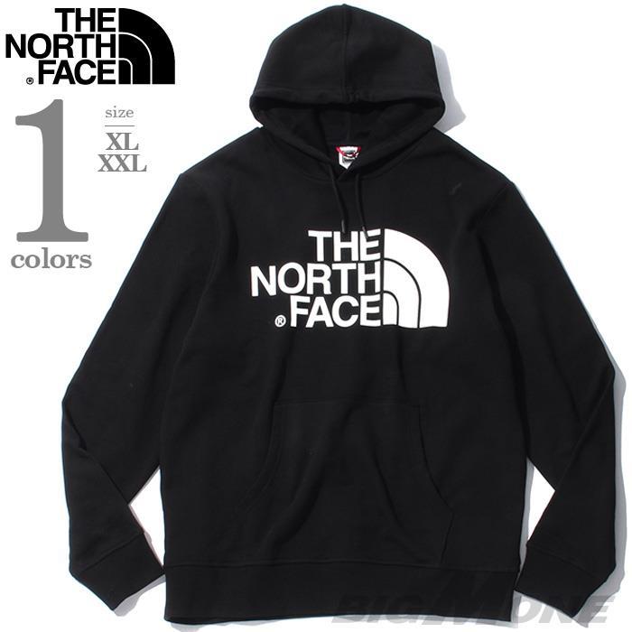 大きいサイズ メンズ THE NORTH FACE ザ ノース フェイス ロゴ プリント プルオーバー パーカー USA直輸入 nf0a3xyd