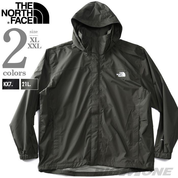 大きいサイズ メンズ THE NORTH FACE ザ ノース フェイス フード付 ナイロン ジャケット USA直輸入 nf00ar9t