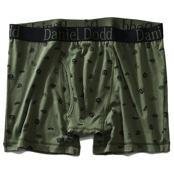 大きいサイズ メンズ DANIEL DODD 前開き 総柄 プリント ボクサー ブリーフ パンツ 肌着 下着 azup-209020
