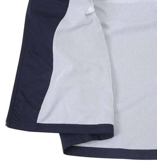 大きいサイズ メンズ adidas ウインド ジャケット ネイビー 1276-0153-1 3XO 4XO 5XO 6XO 7XO